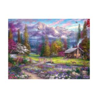 Buffalo Games 1000-pc. Chuck Pinson Escapes Inspirations of Spring Jigsaw Puzzle