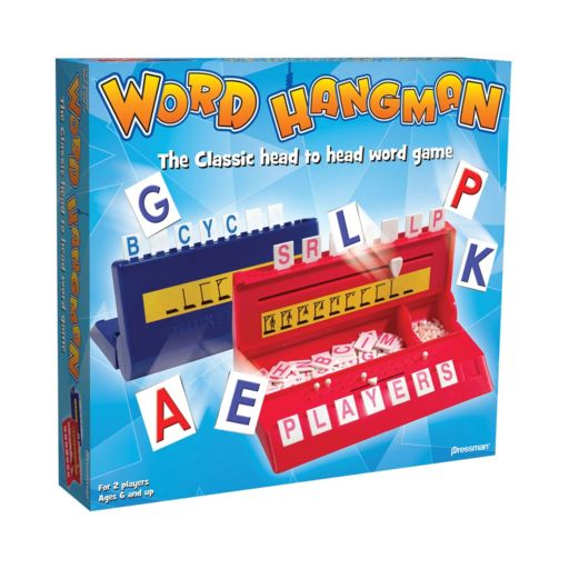 Word Hangman Game by Pressman Toy