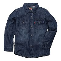 Toddler Boy Levi's® Barstow Denim Western Shirt