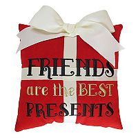 St. Nicholas Square® ''Friends'' Small Throw Pillow