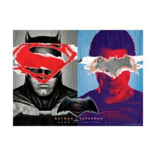 Batman v Superman: Dawn of Justice 1000-pc. Glow-in-the-Dark Jigsaw Puzzle by Buffalo Games