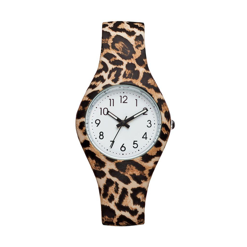 Women's Leopard Print Watch
