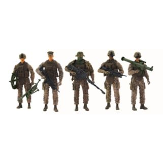 Elite Force 5-pk. Marine Force Recon Figures Set