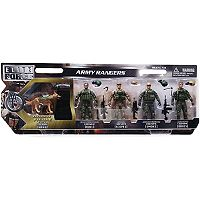 Elite Force 5-pk. Army Ranger Figures & Dog Set