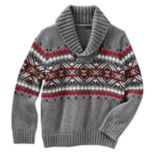 Boys 4-10 OshKosh B'gosh® Knit Shawl Collar Pullover Sweater