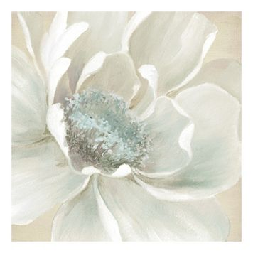 Winter Blooms I Canvas Wall Art