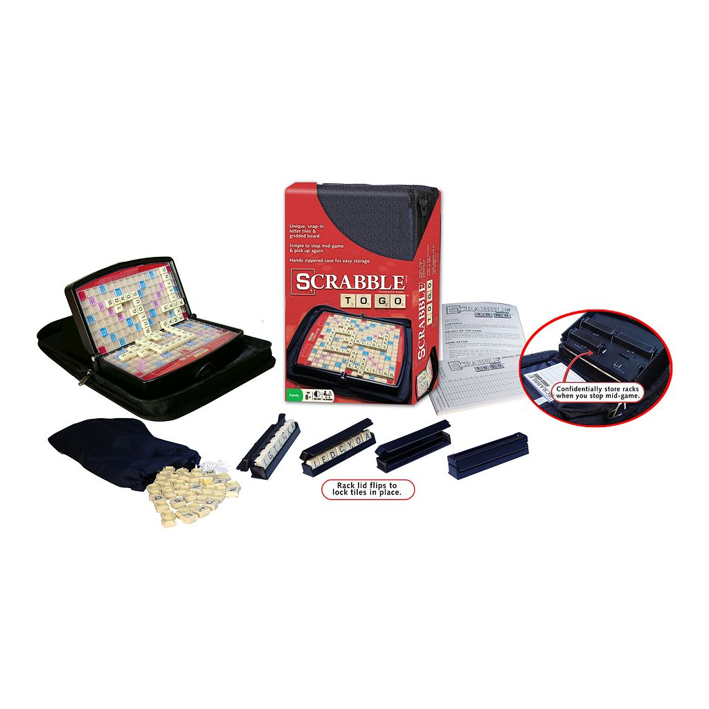 Scrabble To Go Game by Winning Moves