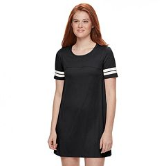Juniors' About A Girl Varsity T-Shirt Dress