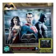Batman v Superman: Dawn of Justice 1000-pc. Batman, Superman & Wonder Woman Glow-in-the-Dark Jigsaw Puzzle by Buffalo Games