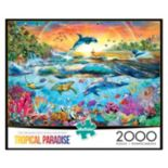Buffalo Games 2000-pc. Tropical Paradise Jigsaw Puzzle