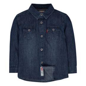 Baby Boy Levi's® Barstow Denim Western Shirt