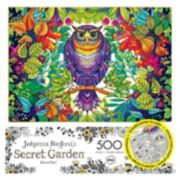 Buffalo Games 500-pc. Johanna Basford's Secret Garden Forest Owl Jigsaw Puzzle