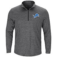 Big & Tall Majestic Detroit Lions Heathered Pullover