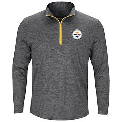 Big & Tall Majestic Pittsburgh Steelers 1/4-Zip Pullover