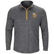 Big & Tall Majestic Minnesota Vikings 1/4-Zip Pullover