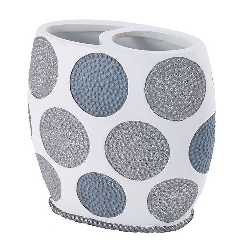 Avanti Dotted Circle Toothbrush Holder