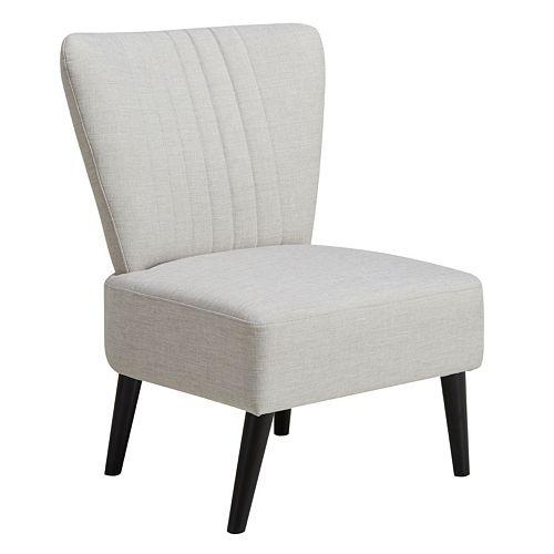 Pulaski Armless Channel Stitch Accent Chair