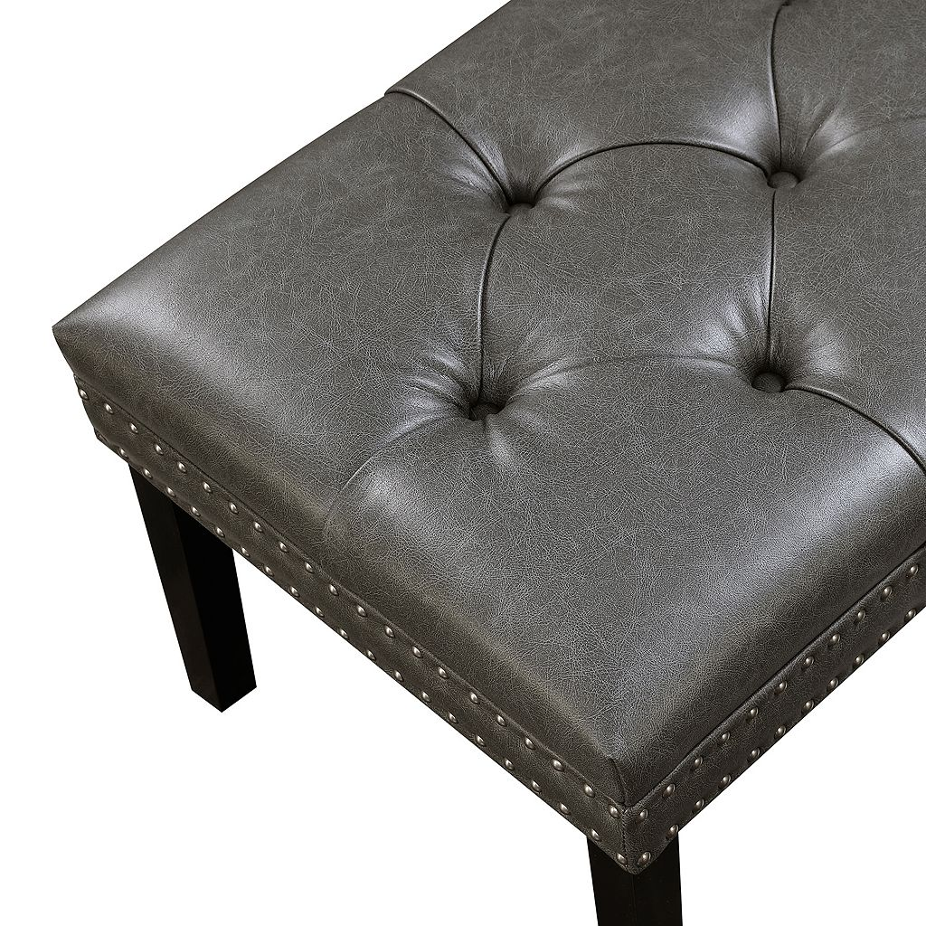 Pulaski Tufted Upholstered Bench