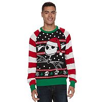 Men's The Nightmare Before Christmas Ugly Christmas Sweater
