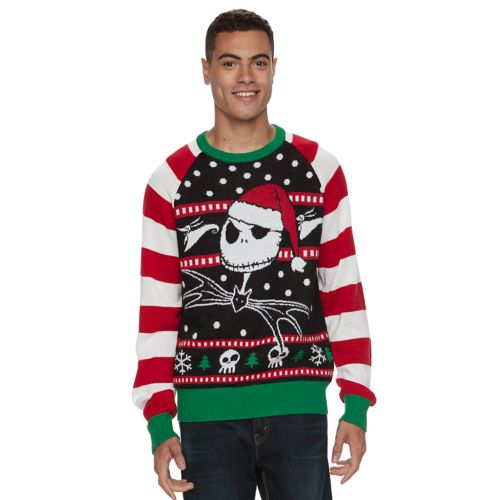 Mens The Nightmare Before Christmas Ugly Christmas Sweater