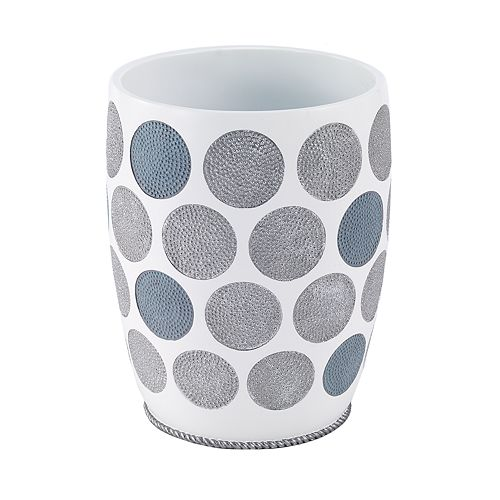 Avanti Dotted Circle Waste Basket