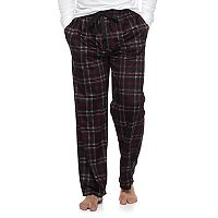 Men's Van Heusen Plaid Fleece Lounge Pants