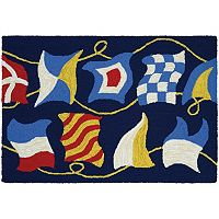 Couristan Covington Accents Regatta Indoor Outdoor Rug - 2' x 3'
