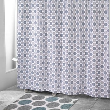 Avanti Dotted Circle Shower Curtain