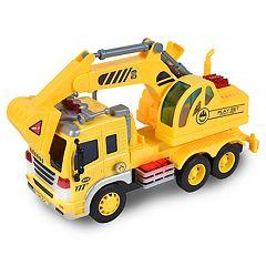 Maxx Action Realistic Action Trucks Excavator
