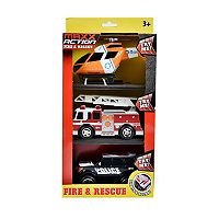Maxx Action Fire & Rescue Vehicle Set