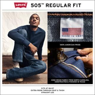 Men's Levi's® 505™ Regular-Fit Straight-Leg Jeans
