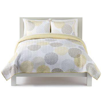 The Big One® Dahlia Dot Print Quilt Set