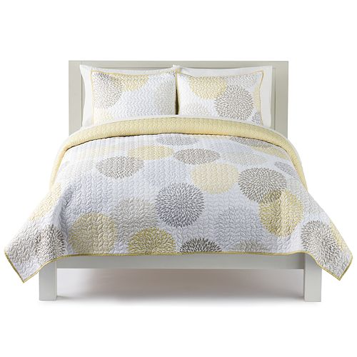 The Big One® Dahlia Dot Print Quilt Set