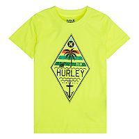 Boys 4-7 Hurley Wavy Sign Logo Graphic Tee