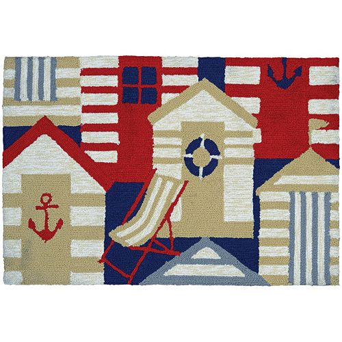 Couristan Covington Accents Cabana Indoor Outdoor Rug - 2' x 3'