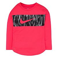 Girls 4-6x Nike Dri-FIT Colorblock Long-Sleeved Tee