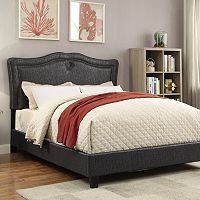 Pulaski Adjustable Upholstered Sweetheart Queen Bed