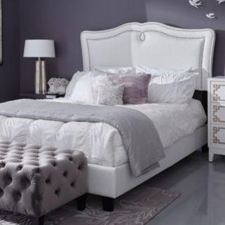 Pulaski Adjustable Upholstered Sweetheart Queen Bed