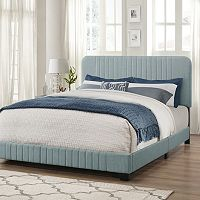 Pulaski Adjustable Channel Stitch Upholstered Bed