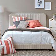 Pulaski Adjustable Channel Stitch Upholstered Bed