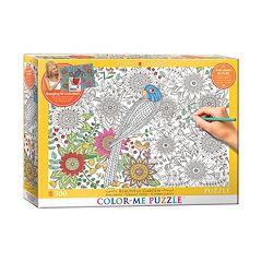Eurographics 300-pc. Beautiful Garden Color-Me Puzzle