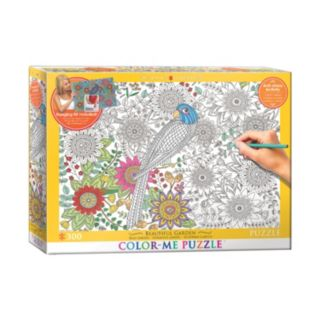 Eurographics 300-pc. Beautiful Garden Color-Me Puzzle