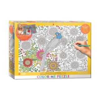 Eurographics Inc. 300-pc. Beautiful Garden Color-Me Puzzle
