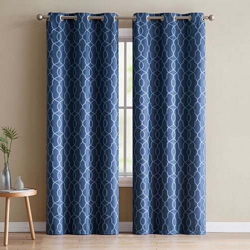 VCNY 2-pack Odyssey Blackout Window Curtains
