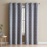 VCNY Odyssey Blackout Window Curtain Set