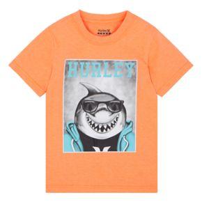 "Boys 4-7 Hurley Shark ""Hurley""  Graphic Tee"