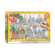 Eurographics 300-pc. Town House Color-Me Puzzle