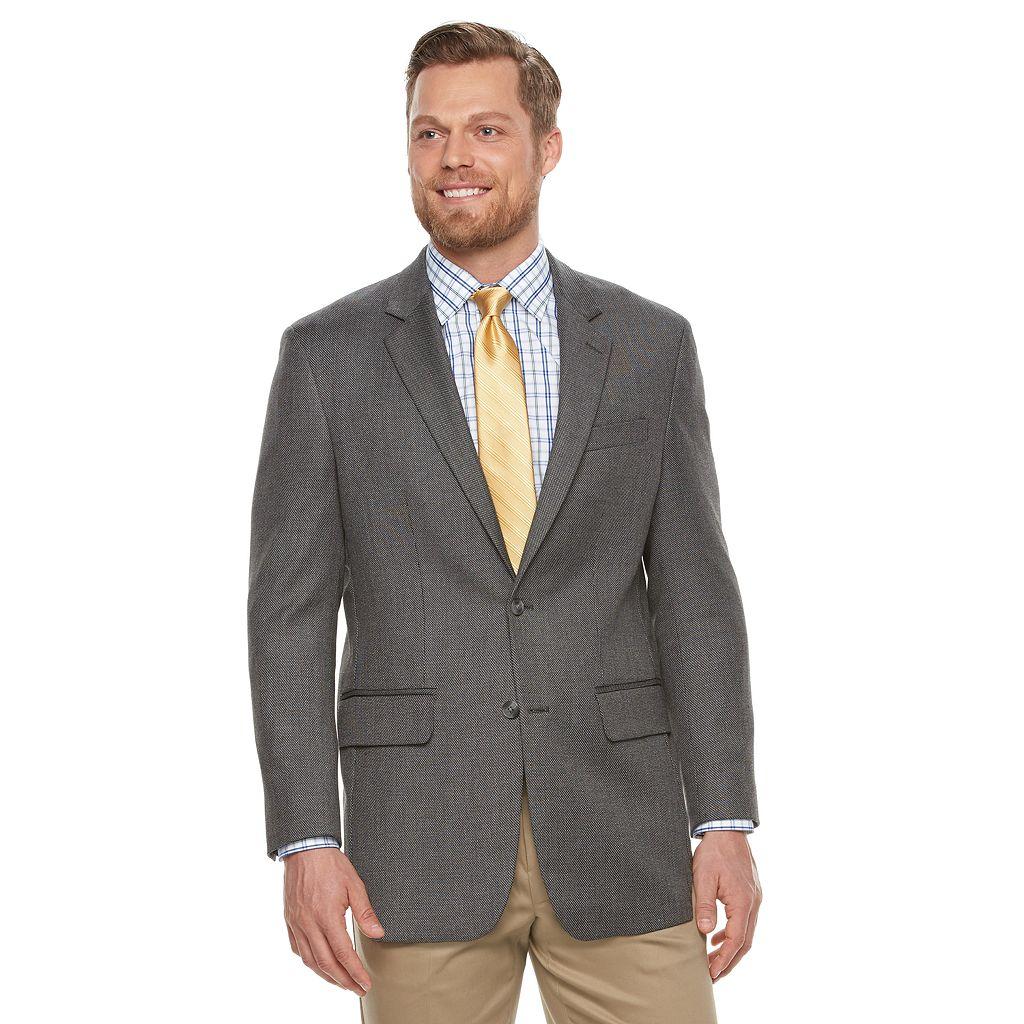 Men's Croft & Barrow® True Comfort Classic-Fit Hopsack Sport Coat