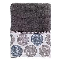 Avanti Dotted Circle Hand Towel