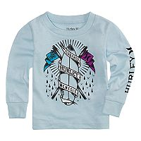 Boys 4-7 Hurley Logo Graphic Long -Sleeve Tee